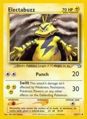Electabuzz - 33/111 - Uncommon - Unlimited Edition