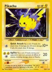 Pikachu - 70/111 - Common - Unlimited Edition