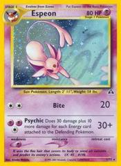 Espeon - 1/75 - Holo Rare - Unlimited Edition