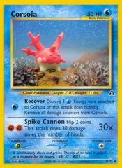 Corsola - 37/75 - Uncommon - Unlimited Edition