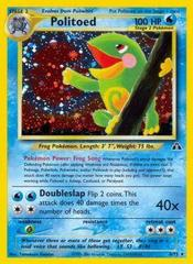 Politoed - 8/75 - Holo Rare - Unlimited Edition
