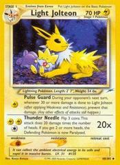 Light Jolteon - 48/105 - Uncommon - Unlimited Edition