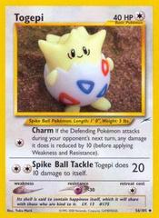 Togepi - 56/105 - Uncommon - Unlimited Edition