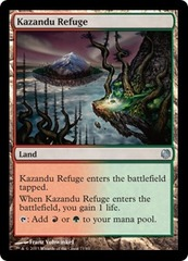 Kazandu Refuge on Channel Fireball