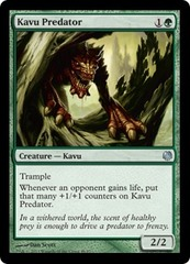 Kavu Predator on Channel Fireball