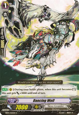 Dancing Wolf - EB04/025EN - C