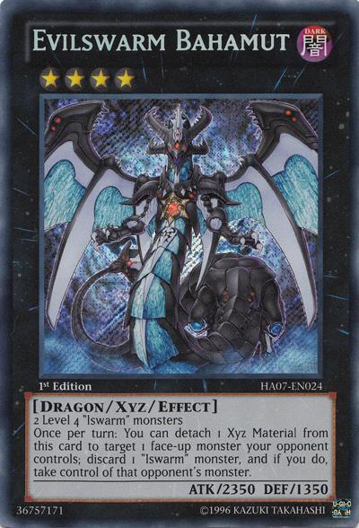 Evilswarm Bahamut - HA07-EN024 - Secret Rare - Unlimited Edition
