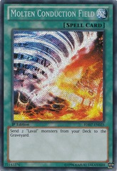 Molten Conduction Field - HA07-EN025 - Secret Rare - Unlimited Edition