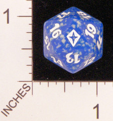 Magic Spindown Die - Worldwake Blue