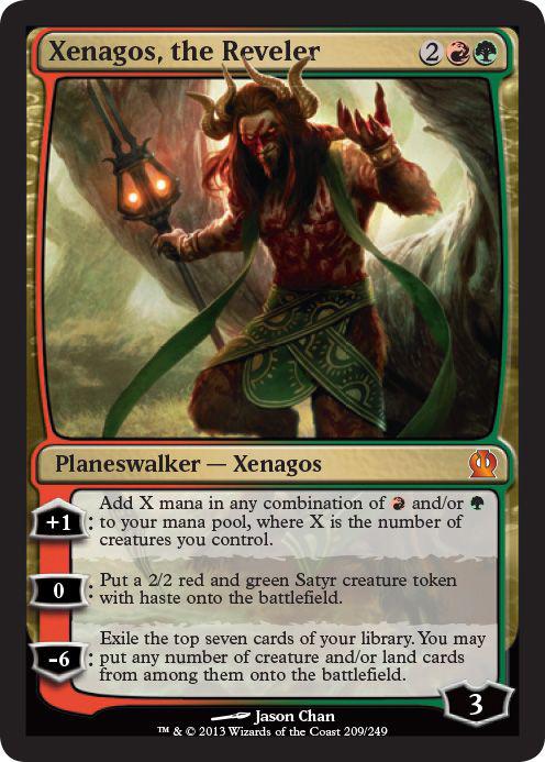Xenagos, the Reveler - Foil