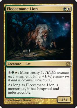 Fleecemane Lion - Foil