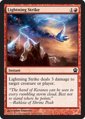 Lightning Strike on Channel Fireball