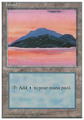 Island (180 - Pink & Orange Dusk)