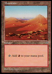Mountain (Blue Sky/Red Dunes)