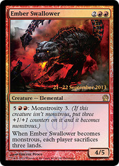 Ember Swallower - Foil - Prerelease Promo