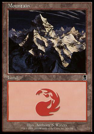 Mountain (343) - Foil