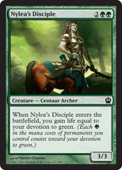 Nylea's Disciple on Channel Fireball