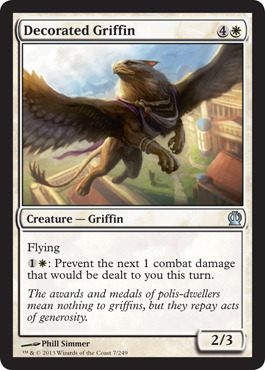 Decorated Griffin - Foil