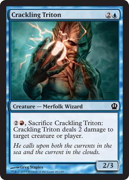 Crackling Triton - Foil
