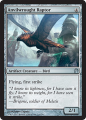 Anvilwrought Raptor - Foil on Channel Fireball