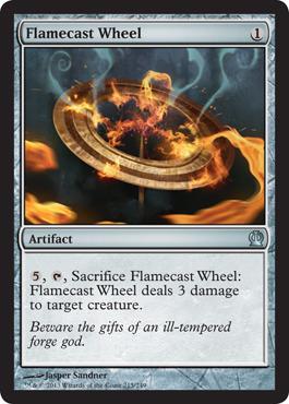 Flamecast Wheel - Foil