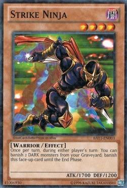 Strike Ninja - BATT-EN003 - Starfoil Rare - Unlimited Edition