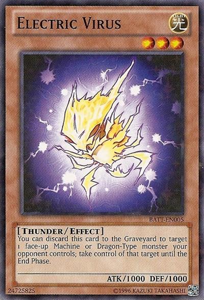 Electric Virus - BATT-EN005 - Starfoil Rare - Unlimited Edition