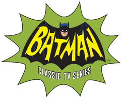 Batman Classic TV Series - Gravity Feed Display