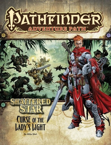 Pathfinder Adventure Path #62: Curse of the Ladys Light (Shattered Star 2 of 6)