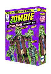 Create Your Own Zombie Action Figure PX Kit