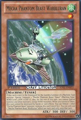 Mecha Phantom Beast Warbluran - JOTL-EN022 - Rare - Unlimited Edition