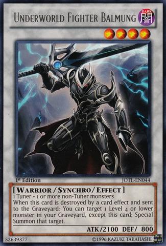 Underworld Fighter Balmung - JOTL-EN044 - Rare - Unlimited