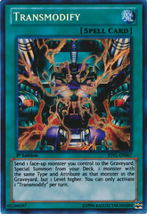 Transmodify - JOTL-EN067 - Secret Rare - Unlimited Edition
