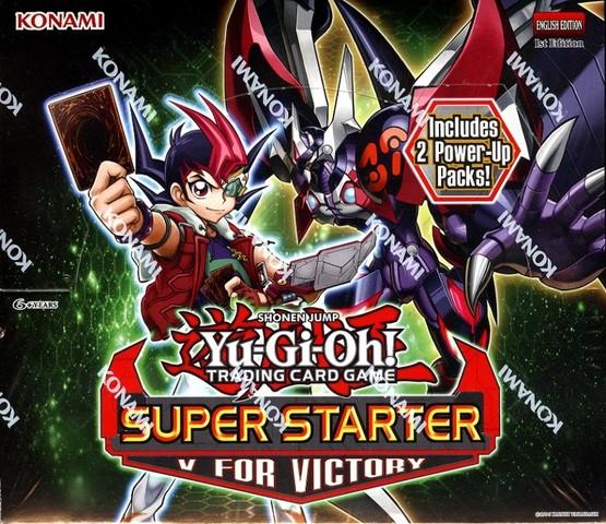 Yu-Gi-Oh 2013 Super Starter: V for Victory Display Box
