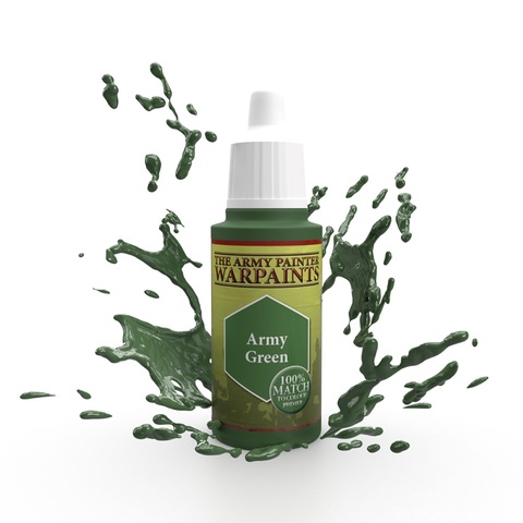 Warpaints: Army Green (100% match) 18ml