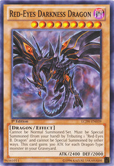 Red-Eyes Darkness Dragon - LCJW-EN039 - Common - 1st Edition