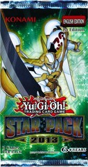 Yu-Gi-Oh Star Pack 2013 1st Edition Booster Pack