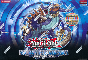 Yu-Gi-Oh Structure Deck: Realm of the Sea Emperor Display Box 8ct - 1st Edition