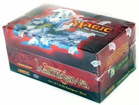 Champions of Kamigawa Theme Deck Box with 12 Decks