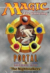 Portal Second Age The Nightstalkers Precon Theme Deck