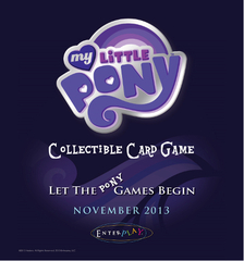 My Little Pony Collectible Card Game Twilight Sparkle & Applejack Theme Deck