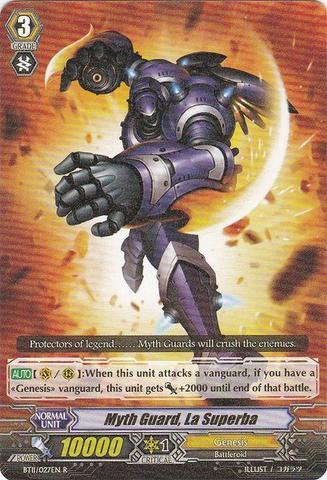 Myth Guard La Superba - BT11/027EN - R