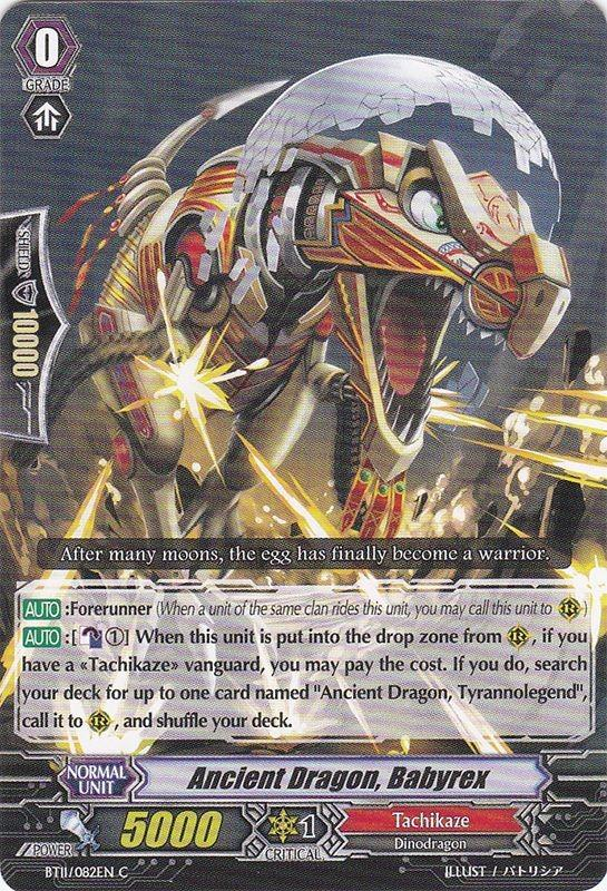 Ancient Dragon, Babyrex - BT11/082EN - C