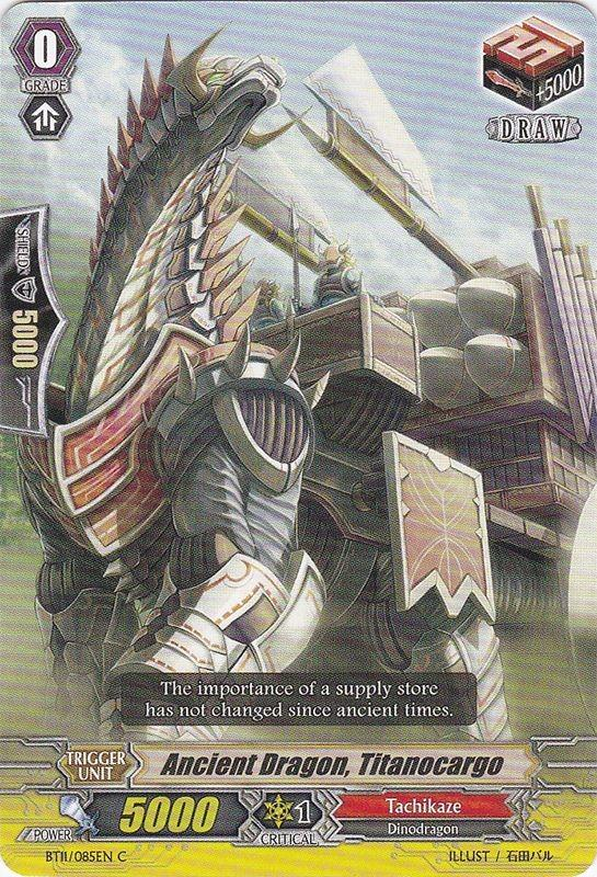 Ancient Dragon, Titanocargo - BT11/085EN - C