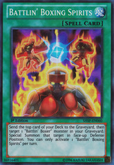 Battlin' Boxing Spirits - SHSP-EN060 - Super Rare - 1st Edition on Channel Fireball