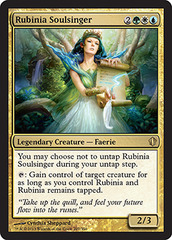 Oversized - Rubinia Soulsinger on Channel Fireball
