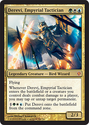 Derevi, Empyrial Tactician (Oversized)