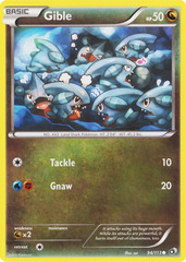 Gible - 94/113 - Common on Channel Fireball