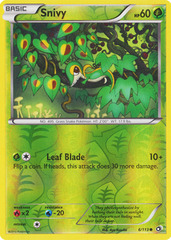 Snivy - 6/113 - Common - Reverse Holo