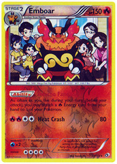 Emboar - 27/113 - Holo Rare - Reverse Holo on Channel Fireball